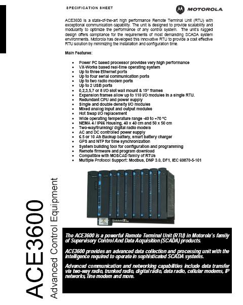 ACE3600-specs