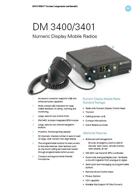 DM3400-specs