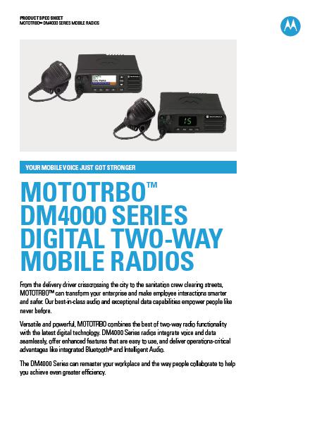 DM4000-Specs